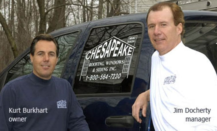Chesapeake Roofing in Annapolis MD Staff